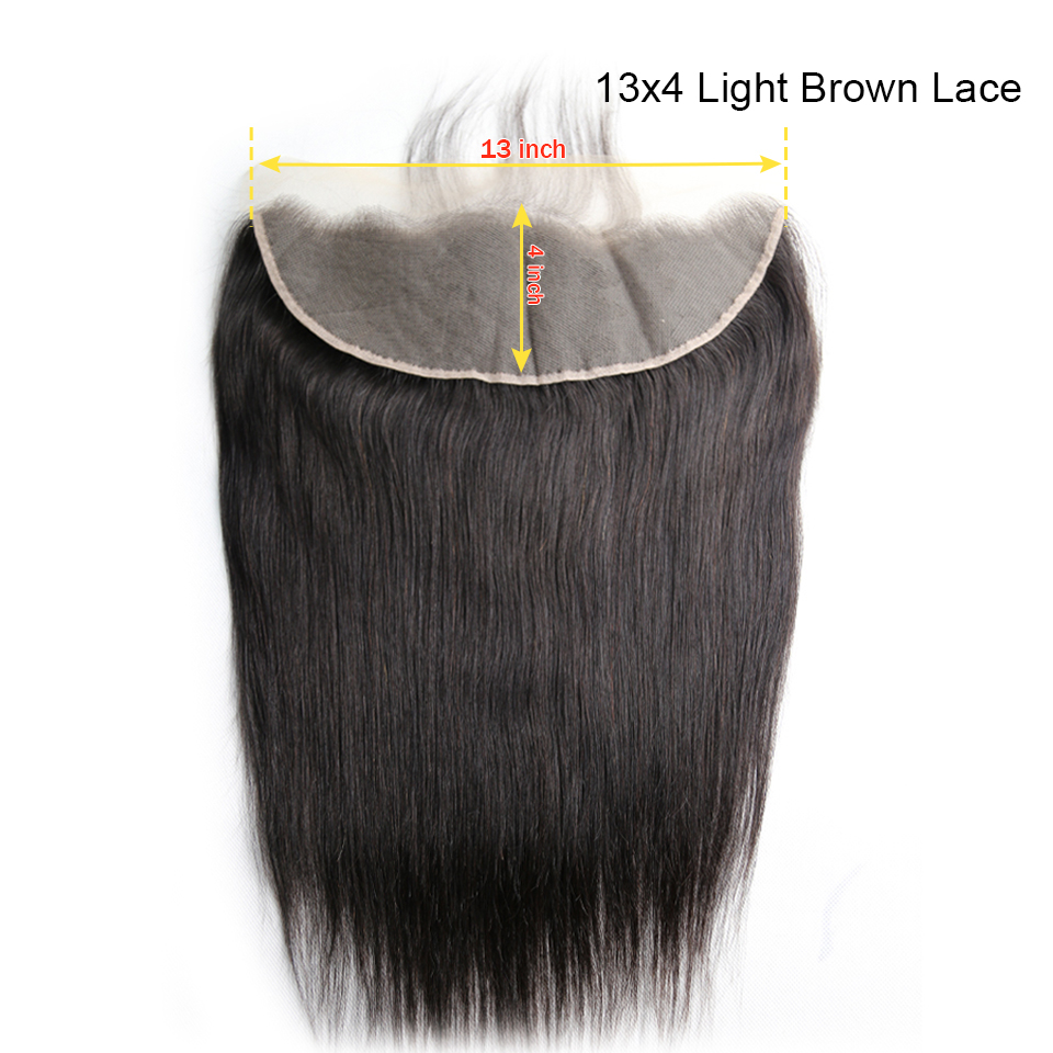 Straight 13x4 Light Brown Lace