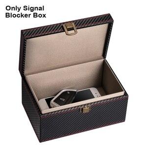 Image 4 - Privatsphäre Schutz Anti Theft Auto Key RFID Signal Blocker Box Geldbörse Sicherheit Handy Praktische PU Leder Keyless Entry