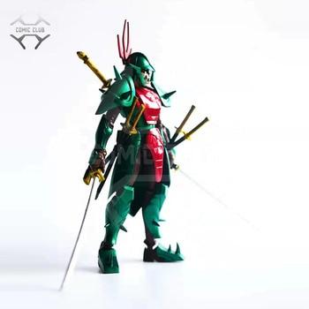 COMIC CLUB INSTOCK lutoys model Ronin Warriors YoroiDen Samurai Troopers darkness demon general poison Metal Cloth Armor Plus
