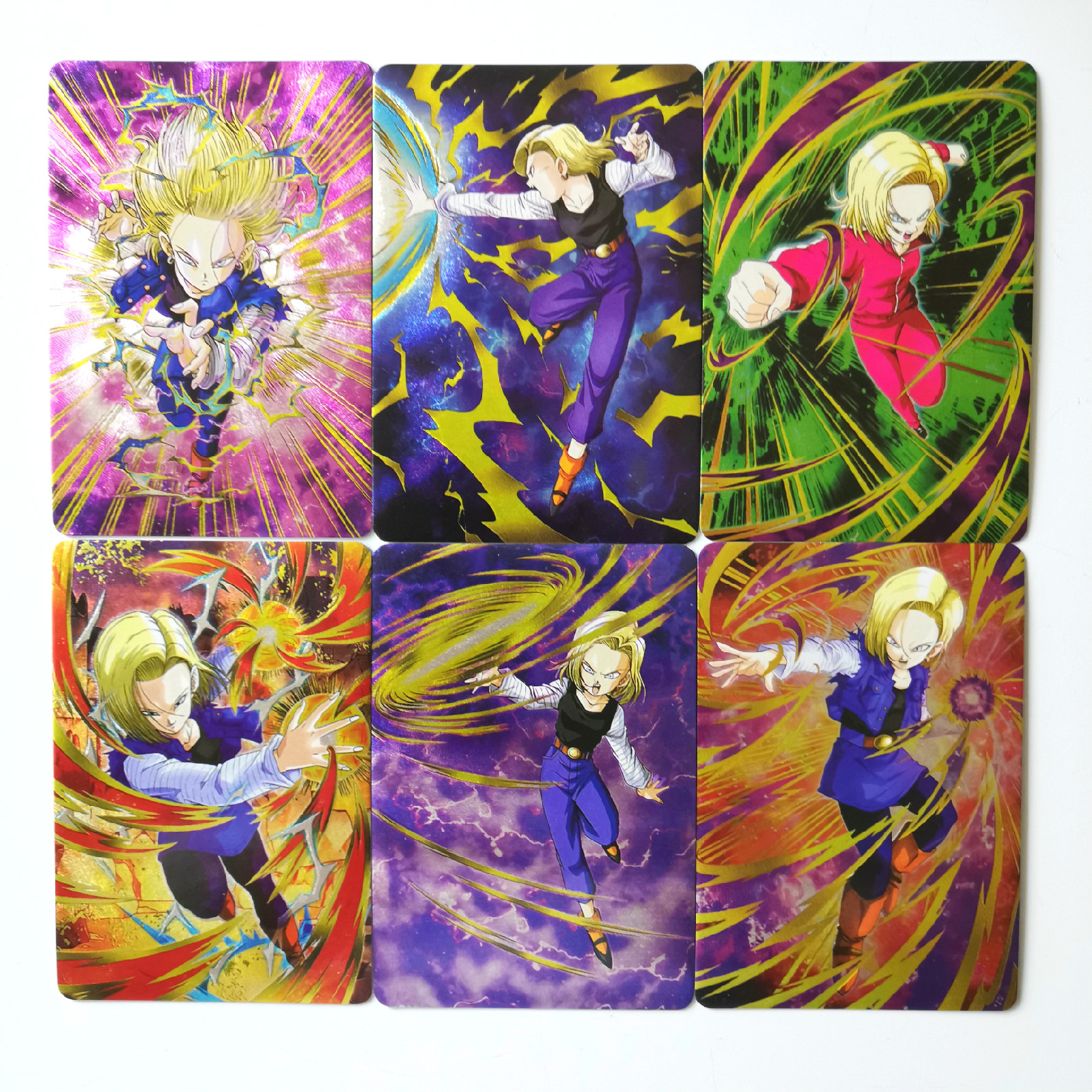 18pcs Super Dragon Ball Z Heroes Battle Card Ultra Instinct Goku Toys Hobbies Hobby Collectibles Game Collection Anime Cards