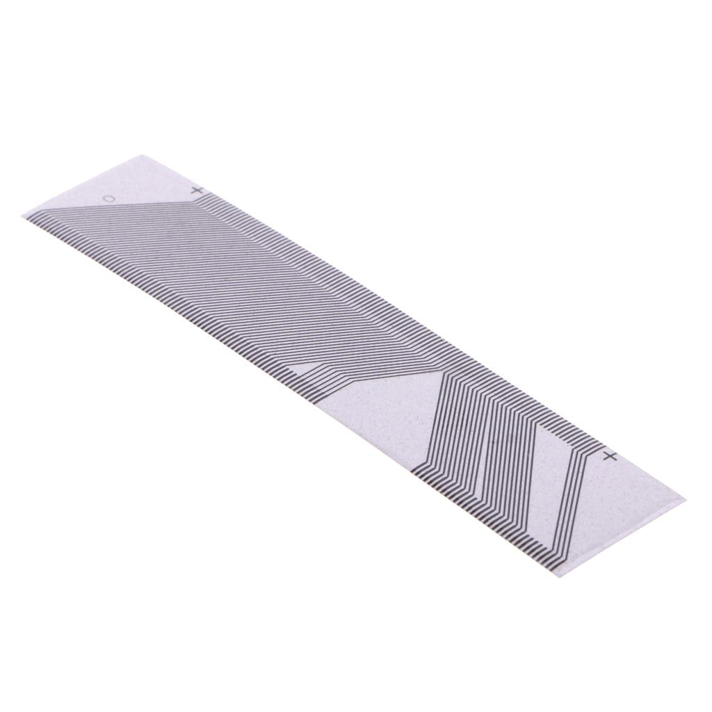 Conjunto de instrumentos ribbo fita cabo tela reparação kit conversão para saab cinza