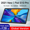 New 10.1'' S10 Tablet 1920x1200 IPS 6GB RAM 128GB ROM 5G pc Gaming Octa Core Tablets PC Android 10 Dual SIM Wifi Type-C 1