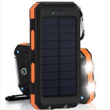 Solar Power Bank 20000 mah quick charge Waterproof External