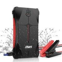 Portable Car Jump Starter 1000A 13800mAh Powerbank Emergency Battery Booster Waterproof with LED Flashlight USB Port Waterproof