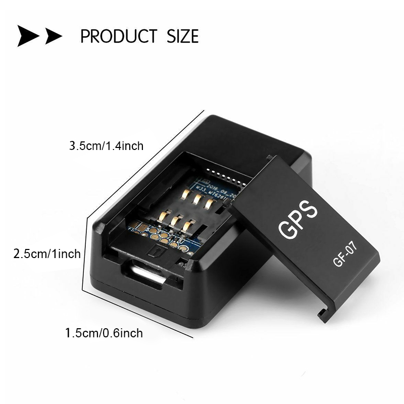 Mini GPS Tracker Car GPS Locator Anti-theft Tracker Real Time Car Gps Tracker Anti-Lost Recording Tracking Device Voice Control 4