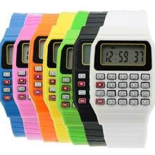 Fad Детские Силиконовые Многоцелевые электронные наручные часы