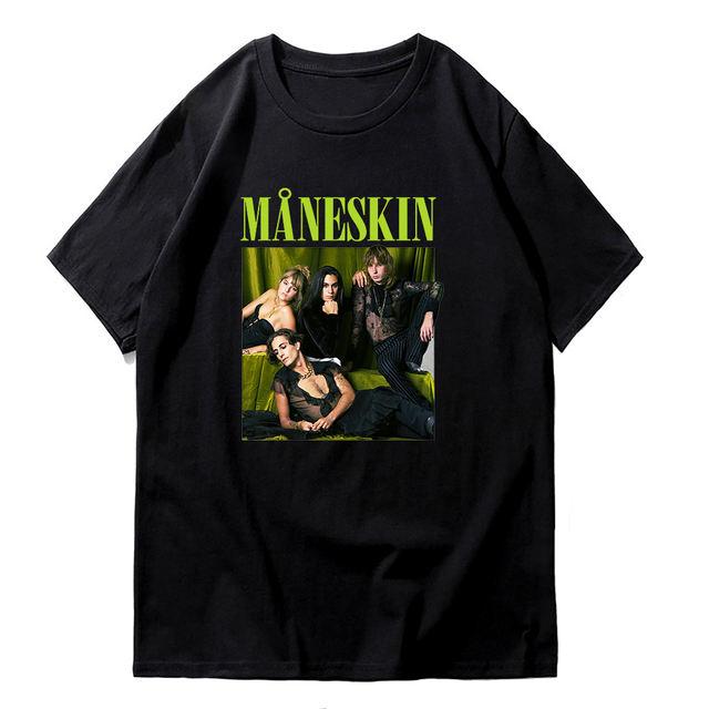 MANESKIN THEMED T-SHIRT (14 VARIAN)