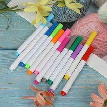 Liquid-Chalk-Pens Marker-Pen Wall-Sticker Blackboard 12-Colors Kids for Erasable Non-Dust