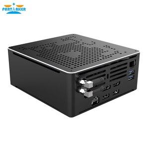 Image 4 - Partaker en oyun bilgisayarı Intel core i9 8950HK 6 çekirdekli 12 konuları 12M önbellek 14nm Nuc Mini PC Win10 Pro HDMI AC WiFi BT DDR4