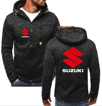 2019 marka mężczyźni motocykl Suzuki bluza z kapturem 4S sklep sprzedaż mężczyźni bluzy płaszcz Subaru casualowa kurtka SUZUKI GSX-R bluza z kapturem na zamek