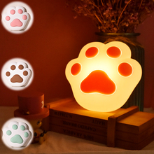 The New LED Cat Claw Silicone Wall Lamp Touch USB decompression atmosphere light Closet Cabinet Lamp bedroom Night Light Gift led colour changeable led night light touch multifunctional usb charging music speaker lamp atmosphere gift light lamp iy303140