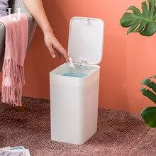 цена на Youpin Jordan&Judy Large Bucket Trash Can Press with Lid Kitchen Bathroom Living Room Bedroom Trash Can