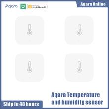 Aqara – Capteur de température intelligent, détecteur d'humidité, pression atmosphérique, sans fil, avec télécommande ZigBee, connexion Wifi avec Xiaomi Home