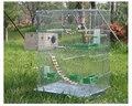 Grande cage à oiseaux décoration pour perroquet métal oiseau maison avancée élevage cage pigeon fournitures pour animaux de compagnie myna perroquet nid oiseau lit