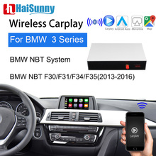 Wireless Carplay For BMW NBT 3Series F30- F35 E80 E91 E92 E46 2013-16 Support Multimedia IOS Android Google Maps Reverse camera