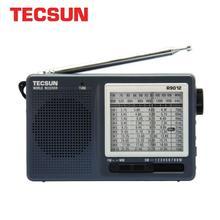 Tecsun rádio fm/am/sw portátil com 12 bandas, receptor de internet, alta sensibilidade, selectividade, baixo ruído, fm/am/sw radio