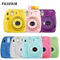 Fuji Fujifilm Instax Mini 9 мгновенная фотокамера с зеркалом для селфи, фотокамера для съемки Insta Mini 9, новый цвет