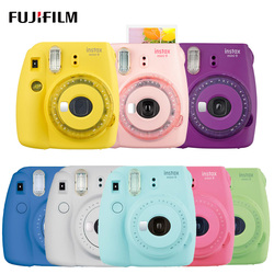 Fuji Fujifilm Instax Mini 9 Instant Photo Camera with Selfie Mirror Film Photo Snapshot Camera Shooting Insta Mini 9 New Color