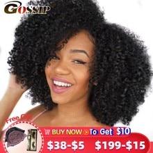 Mongol crépus bouclés cheveux paquets 100% cheveux humains paquets Afro crépus bouclés cheveux armure faisceaux 1/3/4 paquets ragots Remy cheveux