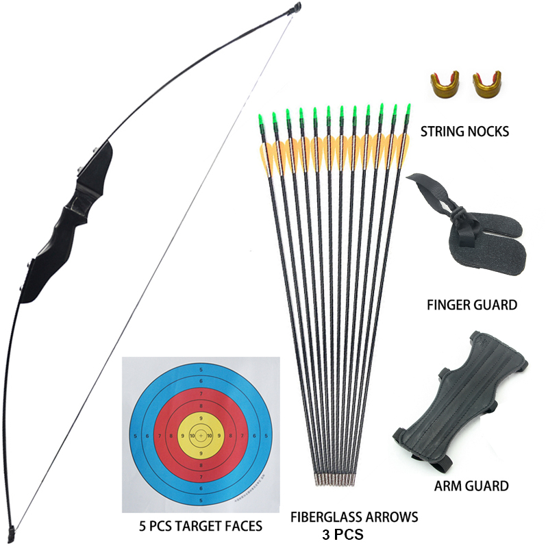 12x Carbon Arrows Specially For Compound Bows Archery Target Practice Hunting