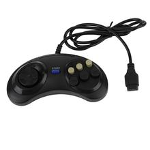 New Six Buttoms Game Handle Command Pad Plastic Accessories Gamepad For Sega Megadrive For Mega Drive Deluxe Drive Wonder Mega(China)
