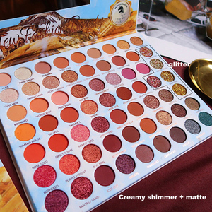 Image 5 - ICYCHEER Makeup 63 Colors Rainbow Eyeshadow Palette Shimmer Gltter Matte Creamy Eye Shadow Pigmented maquillage paleta de sombra