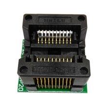 SOP20 SOIC20 SO20 à DIP20 pas 1.27m IC largeur du corps 5.4mm 209mil Flash Test prise OTS20-1.27-01 adaptateur de programmation