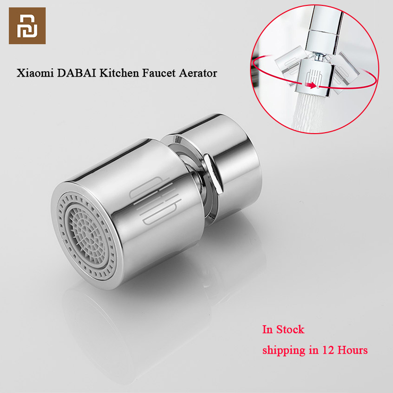 DABAI Kitchen Faucet Aerator Water Diffuser Bubbler Zinc alloy Water Saving Filter Head Nozzle Tap Connector Double Mode
