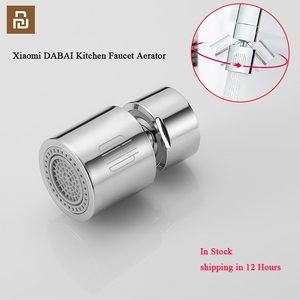 DABAI Kitchen Faucet Aerator Water Diffuser Bubbler Zinc alloy Water Saving Filter Head Nozzle Tap Connector Double Mode(China)