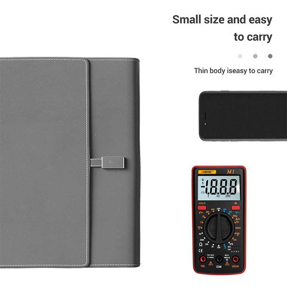 새로운 M1 멀티 미터 AC/DC 전류계 전압계 옴 주파수 다이오드 측정 테스트 멀티 미터 USB 테스터 백라이트 멀티 미터