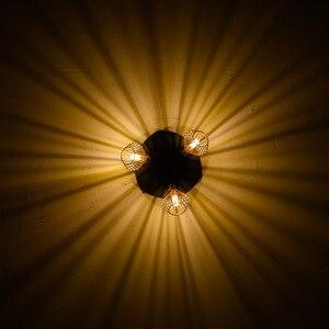 Image 5 - Nordic loft Lampade A Sospensione Fixture Moderno Creativo Gabbia Lampada A sospensione Industriale Retro Lampadina Fai Da Te PER LA camera da letto Soggiorno sala da pranzo