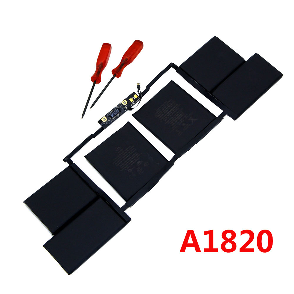 11.40V 6667mAh Laptop battery For Apple MacBook A1820 15 inch computer model A1707 2016 year Laptop