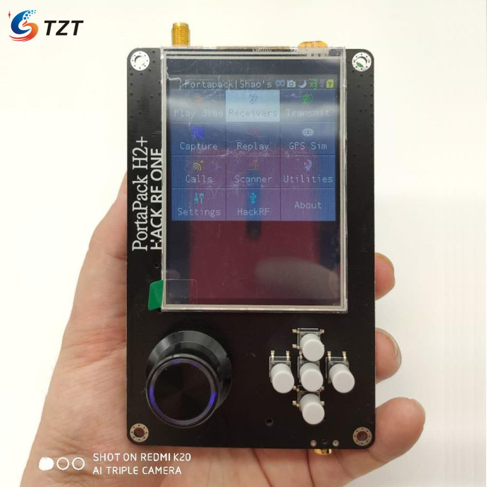 TZT PortaPack H2 3 2inch Touch Screen 0 5PPM TCXO Clock For HackRF One SDR Transceiver  Expansion Board  Cable Not included