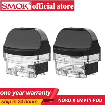 3 sztuk paczka SMOK oryginalny Nord X RPM 2 pusty 6ml pod atomizer kaseta do waporyzatora dla NordX zestaw do e-papierosa VS nord 2 pusty pod tanie i dobre opinie CN (pochodzenie) nord x pod Z tworzywa sztucznego Wymienne