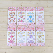 1 Sheet Flower Whale Pearl Drill Stickers For Women Fashion Jewelry Bags Garment Phone Nails Decor Diy Jewelry Accessories цена