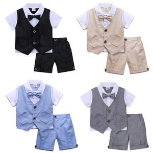 Image 1 - Baby Boys Gentleman Birthday Outfit Infant Wedding Party Gift Suit Toddler Baptism Formal Clothing Set Christening Dress