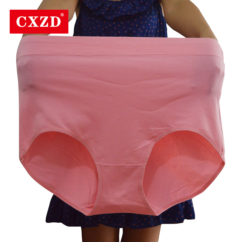 CXZD Fashion seamless High Waist Period   Panties   comfortable for women Cotton underwear lingerie plus size female briefs hot sale