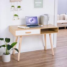 110*75*50cm Pratical Wood Computer Desk Laptop Desk Writing Table Study Desk Home Bedroom Office Table Furniture HWC