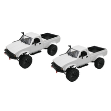 1:16 Scale WPL C24 2.4G DIY RC Car KIT 4WD Remote Control Crawler Buggy Moving Machine Kids Toys