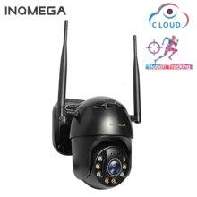 INQMEGA 1080P PTZ IP كاميرا لاسلكية السيارات تتبع في الهواء الطلق للماء 4X الرقمية التكبير سرعة قبة 1 بوصة WiFi الأمن CCTV كاميرا