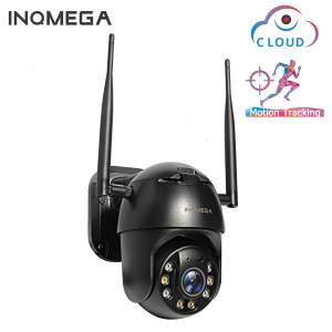 INQMEGA 1080P PTZ IP Camera Wireless Auto Tracking Outdoor Waterproof 4X Digital Zoom Speed Dome 1Inch WiFi Security CCTV Camera