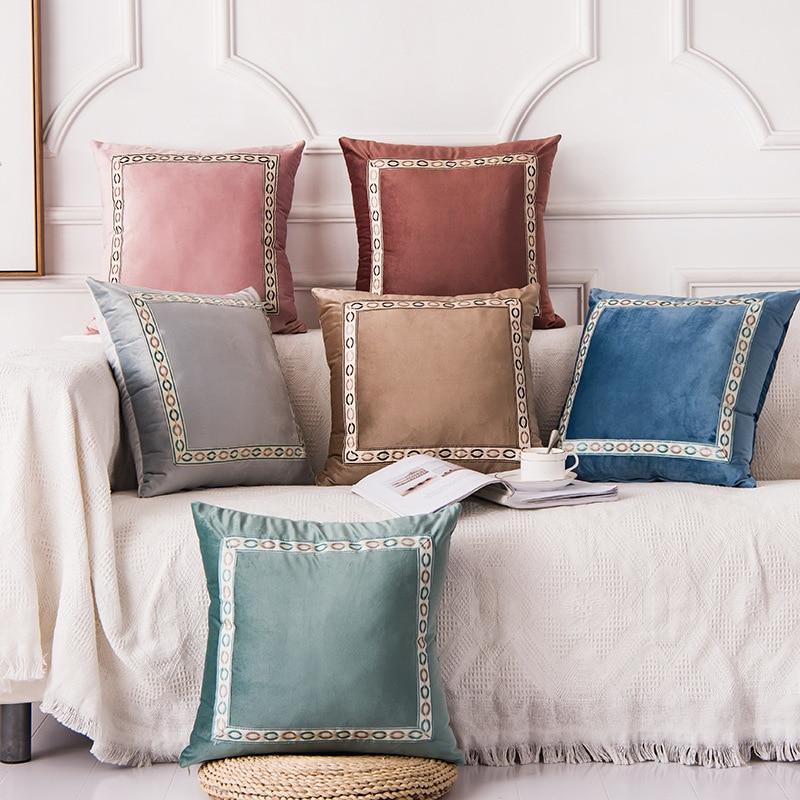Pillow Cushion Cover Home New Year Decorative 45*45cm Dutch Cashmer Kussenhoes Housse De Coussin Cojines