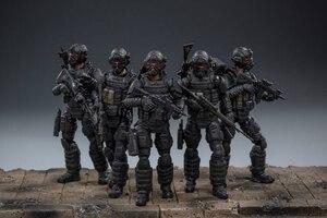 Image 2 - JOYTOY 1:18 figurines action US armée aéroportée Corps soldat figure modèle jouets pour enfant cadeau livraison gratuite