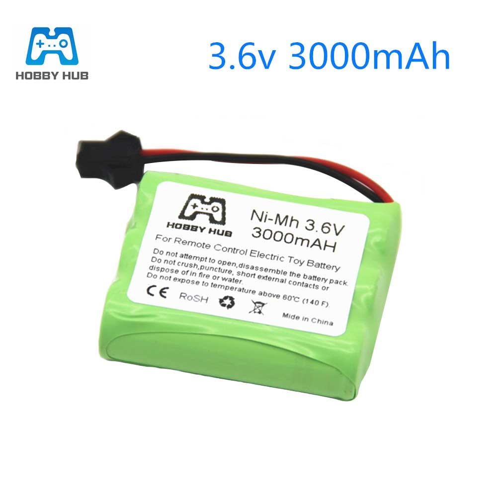 <font><b>1</b></font>/<font><b>2</b></font>/4x <font><b>NI</b></font>-<font><b>Mh</b></font> 3.6V 3000mAH battery Multiple plugs rechargeable battery for rc car toy tools model 3.6 <font><b>v</b></font> <font><b>aa</b></font> size nimh 3000 mah image