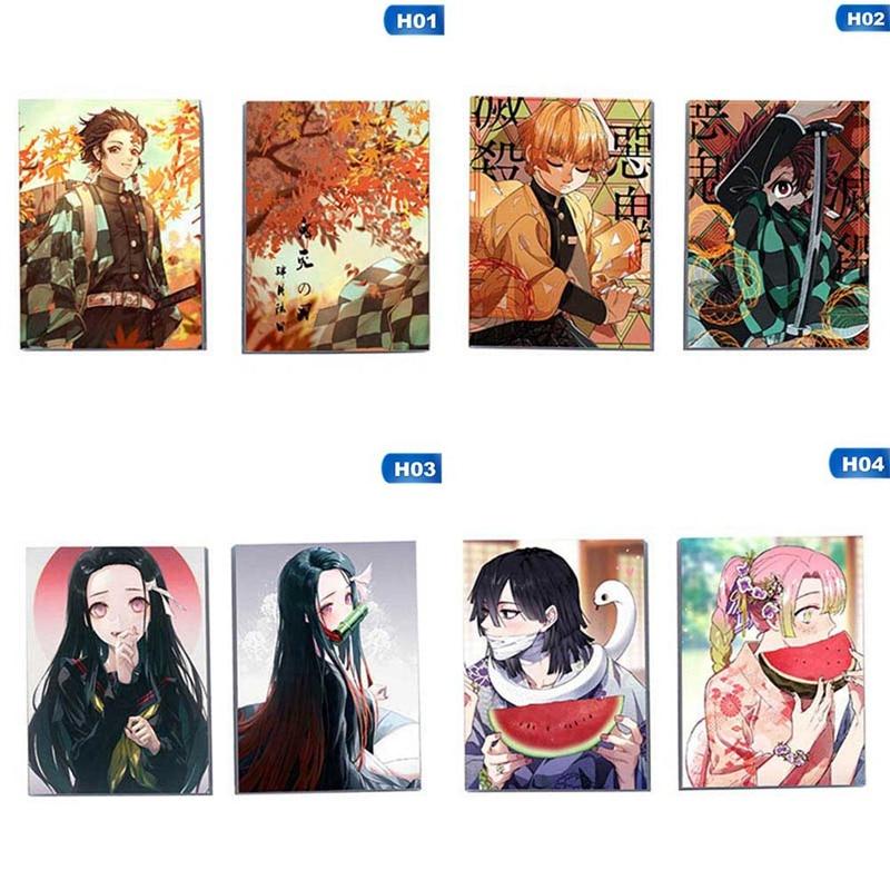 Anime Demon Slayer: Kimetsu No Yaiba Kamado Nezuko Notebook Student Memorial Gift Diary Birthday Gift Notepad