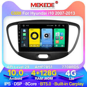 MEKEDE IPS Android10.0 Car Radio Multimedia Player For Hyundai Grand I10 2007-2013 Auto Stereo Video GPS Navigation No 2 Din dvd