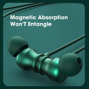 Image 3 - אלחוטי אוזניות עם מיקרופון, Bluetooth 5.0 אוזניות אוזן ניצנים, Neckband IPX5 עמיד למים ספורט ריצת אוזניות אוזניות