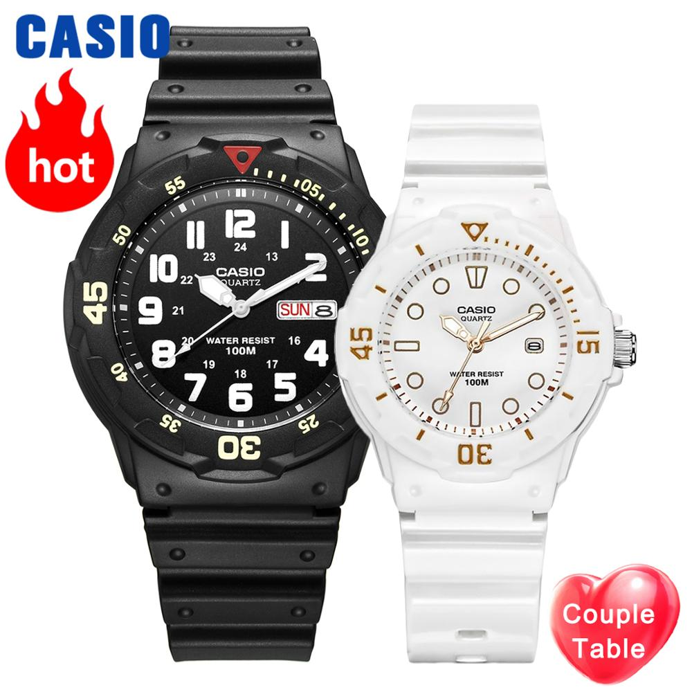 Casio watch diving watch men Set top Luxury Brand Waterproof ladies Wrist <font><b>Couple</b></font> Watches Sport Quartz Watch relogio masculino image