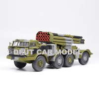 1:43 scale Alloy Toy RUSSIA 9K57 135 BM 27 Truck Model Of Children's Toy Car Original Authentic Kids Toys