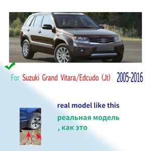Image 2 - 4 adet/takım araba çamur Flaps çamurluklar Suzuki Grand Vitara / Edcudo (JT) 2005 2016 Splash muhafızları 2010 2011 2012 2013 2014 2015